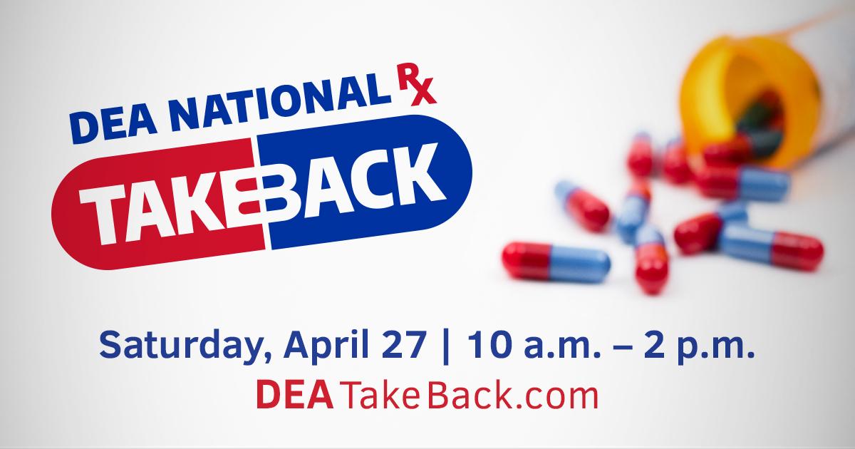 Drug Takeback Day 2019r